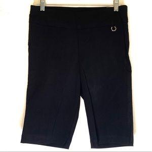 Rafaella Bermuda Comfort Stretch Pull  On Shorts.